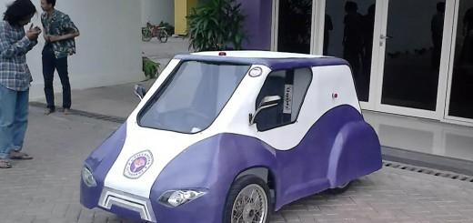 Universitas Gunadarma Masuk 10 Finalis Best Design Kontes Mobil Hemat Energi